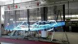 HD 유연한 투명한 LCD 스크린 단계 Laser LED 커튼 P6 P6.25 LED RGB 메시 커튼 유연한 P10.4