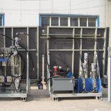 Máquina de cristal doble vertical automática llena del vidrio de la depresión de la máquina del lacre