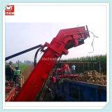 Самозарядная жатка картошки зернокомбайна тележки для пользы фермы