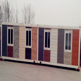 Container House with Panel Decoration 2017 Vente chaude!
