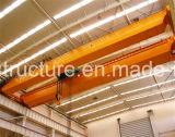 널리 이용되는 Qd 두 배 대들보 걸이 브리지 천장 기중기 전기 호이스트 드는 장비를 가진 20/5 톤