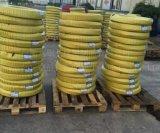 Mangueira hidráulica trançada resistente do fio de aço do petróleo de borracha de alta pressão da mangueira