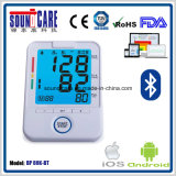 Drahtloser Blutdruck-Monitor des oberen Arm-Bt4.0 (BP 80K-BT) mit von hinten beleuchtetem