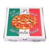 Erhältlich viele im unterschiedlichen Größen-gewölbtes Papier-Pizza-Kasten (PIZZ-008)