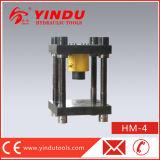 Máquina de perfuração de aço hidráulica da folha de metal (HM-4)