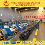 Collegare di saldatura a gas protettivo di rame rivestito del grado: Er70s-6