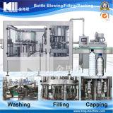 天然水/飲料水のびん詰めにする機械を完了しなさい