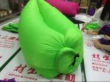 Sac de couchage paresseux gonflable de plage de bâti de sac de salon