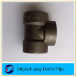 T dell'interruttore del acciaio al carbonio di ASME B16.11 ASTM A105 Cl3000