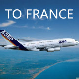 Luftfracht-Kinetik-Service von China verärgert, Frankreich