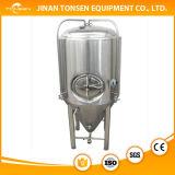 Tanques industriais da fermentação da cerveja com isolação do equipamento da fabricação de cerveja de cerveja