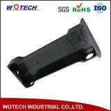 Pieza de torneado que trabaja a máquina del CNC de la precisión de aluminio del anodizado en negro