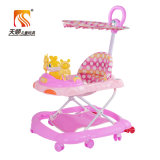 Chine Wholesale Plastic Good Outdoor Baby Walker avec Canopy