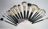 18PCS Synthetic Hair Professional Makeup Brush Set con Belt Caso