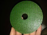 roda da estaca da cor verde de 105X1X16mm para o metal