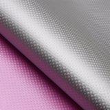 La grata di griglia ha impresso il cuoio impaccante decorativo sintetico dell'unità di elaborazione impresso Matt