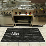 Противобактериологический половой коврик/циновка дренажа резиновый/Anti-Slip циновки кухни