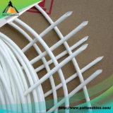 Sleeving da fibra de vidro revestiu com a borracha de silicone