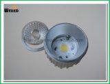 冷たい鍛造材アルミニウム800lm 80raが付いている10W Dimmableバージョン穂軸LEDのスポットライトGU10 LEDの点ライト
