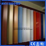 el panel compuesto de aluminio de la superficie de madera de 3m m para la decoración interior de la cabina