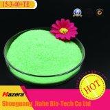 15-3-40 engrais chimiques hydrosolubles de poudre de NPK pour le jet de feuillage