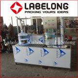 Precio barato semi-automático 5 botellas de barril de botella de lavado / llenado / máquina de taponamiento para la pequeña fábrica