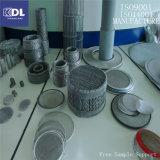 Cartucho de filtro de acoplamiento de alambre de acero inoxidable 304