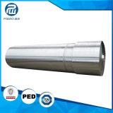 Kundenspezifischer Stahl AISI4140 4130 schmiedete Keil-Welle mit Maschinen-Größe