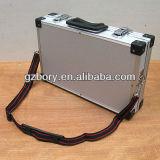 O alumínio carreg o portátil do terno da espuma de W do caso, câmara de vídeo, para o iPad (Afs-3608)