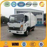 Sinotruk 8t 4X2軽い冷やされていたボックストラック
