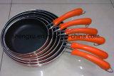 De handvat Met een laag bedekte Non-Stick Pan van het Aluminium voor Cookware Reeksen sx-Yt-A013