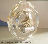 Horloge élevée M-5159r de Tableau de verre cristal de la quantité K9