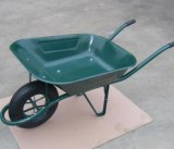 Wheelbarrow da construção modelo de France das tomadas de fábrica