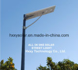 Réverbère solaire Integrated du réverbère du prix usine 6W-120W DEL avec la qualité