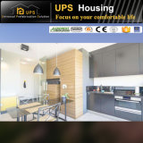 현대 디자인과 부엌 기능을%s 가진 2채의 층 별장 집