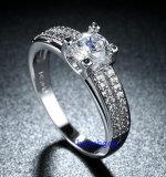 Кольца горячего Zirconia Jewelry- надувательства кубического латунные (R0836)