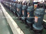 Bombas de água submergíveis elétricas Qdx1.5-25-0.55, 0.55kw