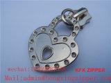 Extracteur en alliage de zinc de tirette en métal d'extracteur de fermeture éclair de modèle simple