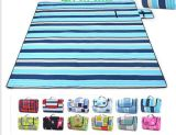 줄무늬 Outdoor Water Proof Picnic와 Beach Mat