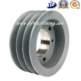 OEM Customized CNC Machining v-Taper Pulley en Bore Pulley