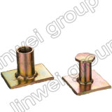 Flache Platten-Kontaktbuchse-anhebende Kontaktbuchse in den Fertigbeton-Zubehör (Rd20X47)