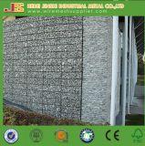 Горяч-Окунутая гальванизированная стена Gabion провода утеса сваренная клеткой сохраняя
