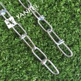 Double chaîne galvanisée de boucle