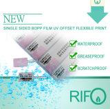 Papier synthétique de BOPP pour les étiquettes imprimables d'étiquettes de vêtement de décalage