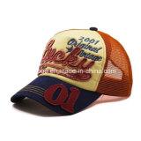 Изготовленный на заказ шлем бейсбола способа вышивки хлопка