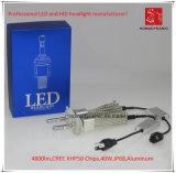 ¡La Nueva Linterna H4, 6000k, 4800lm, Universal del LED, Impermeabiliza con IP68!