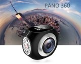 Mini appareil-photo d'action du WiFi 4k de Pano 360 réels avec imperméable à l'eau