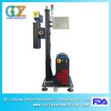 máquina da marcação do laser da fibra de 30W Ipg para a tubulação, o plástico, o metal do PVC, do PE e do metalóide