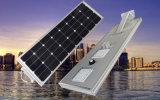 Crepuscolo esterno di ultimo disegno 2017 da albeggiare lampada LED 50W dell'indicatore luminoso di comitato solare