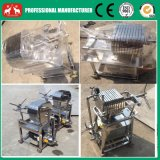Machine inoxidable de presse de filtre à huile du plat 2016